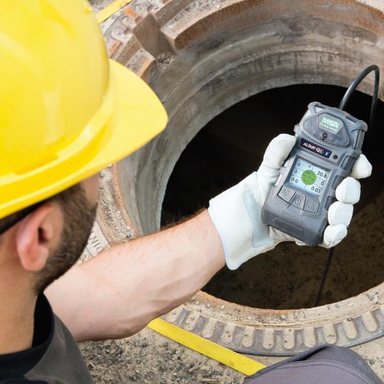 Detección portátil de gases